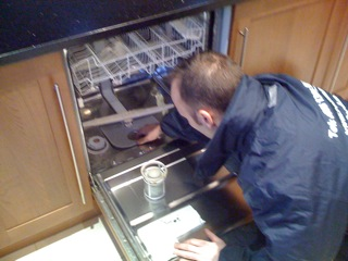 Dishwasher repair service